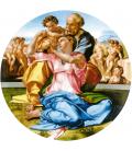 Michelangelo Buonarroti - Tondo Doni. Stampa su tela