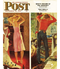 Norman Rockwell - Сover for the Saturday Evening Post. Printing on canvas