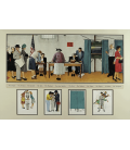 Stampa su tela: Norman Rockwell - Election Day