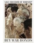 Norman Rockwell - Libertà di Culto Poster. Stampa su tela