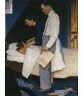 Printing on canvas: Norman Rockwell - Freedom from Fear - Freedom from Fear