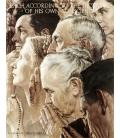 Stampa su tela: Norman Rockwell - Libertà di Culto - Freedom of Worship