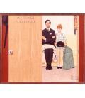 Printing on canvas: Norman Rockwell - Marriage Counselor