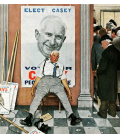Norman Rockwell - The Candidate. Printing on canvas