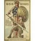 Norman Rockwell - Armi per la libertà. Stampa su tela