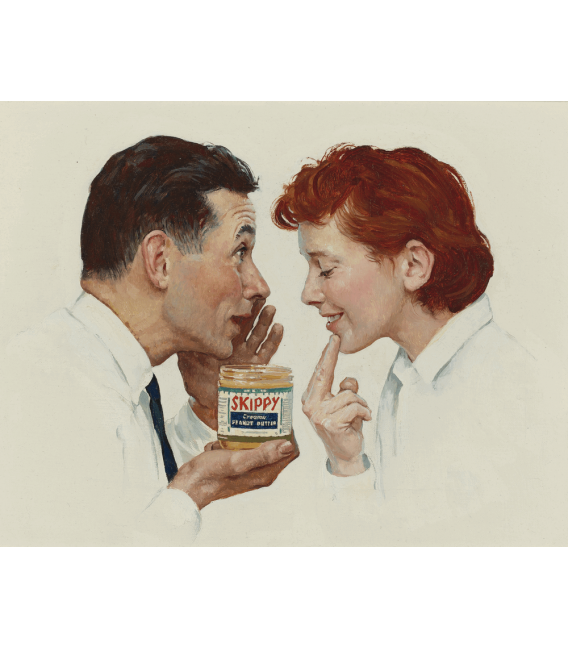 Printing on canvas: Norman Rockwell - Theredlist