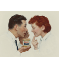 Norman Rockwell - Theredlist. Printing on canvas