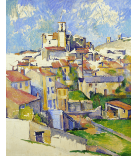 Printing on canvas: Paul Cézanne - Gardanne