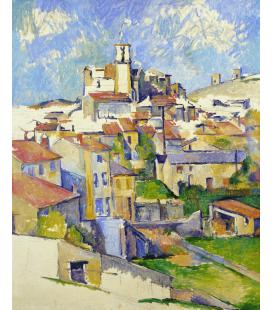 Stampa su tela: Paul Cézanne - Gardanne