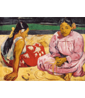 Printing on canvas: Paul Gauguin - Tahitian Women on the Beach