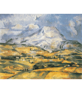 Printing on canvas: Paul Cézanne - Mont Sainte-Victoire 5