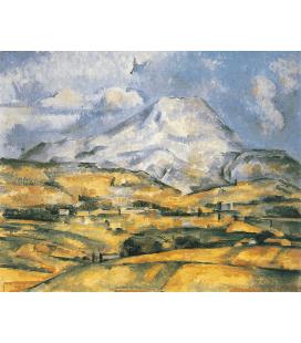 Stampa su tela: Paul Cézanne - Mont Sainte-Victoire 5