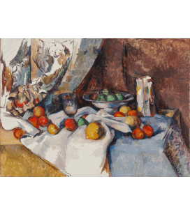 Paul Cézanne - Nature morte. Stampa su tela