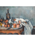 Paul Cézanne - Still life with onions