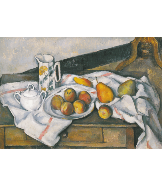 Printing on canvas: Paul Cézanne - Peaches and pears