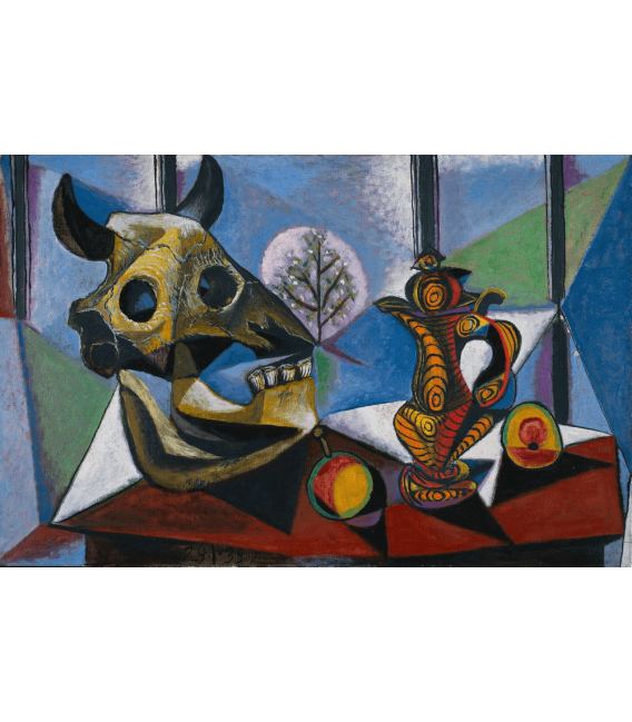 Printing on canvas: Pablo Picasso - Skull of bull