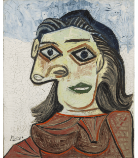 Stampa su tela: Picasso Pablo - Dora Maar