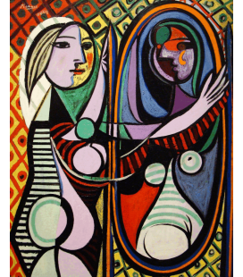 Pablo Picasso - Girl Before A Mirror. Printing on canvas