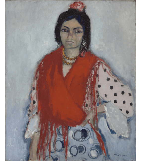 Stampa su tela: Picasso Pablo - Gitane - Dongen
