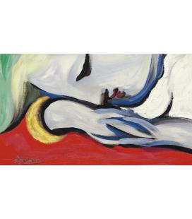 Picasso Pablo - Il Riposo. Stampa su tela