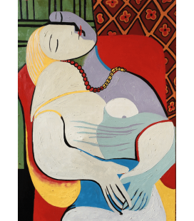 Printing on canvas: Pablo Picasso - The dream