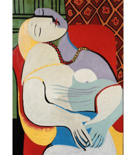 Picasso Pablo - Il sogno. Stampa su tela