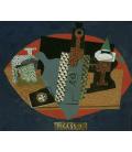Picasso Pablo - La bottiglia di Anis del Mono. Stampa su tela