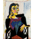 Stampa su tela: Picasso Pablo - La Celestine, La Femme a la Taie