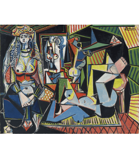 Picasso Pablo - Le donne di Algeri. Stampa su tela