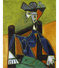 Pablo Picasso - Woman sitting in an armchair