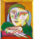 Printing on canvas: Pablo Picasso - Painting of Lover Fetches