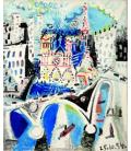 Stampa su tela: Picasso Pablo - Notre Dame de Paris