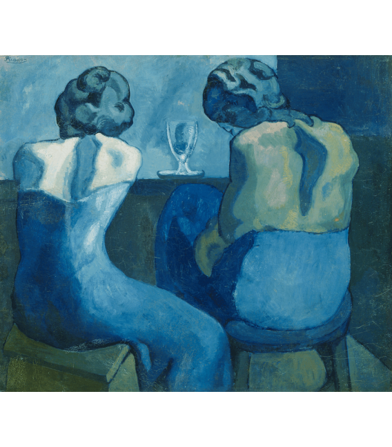 Printing on canvas: Pablo Picasso - Pierreuses