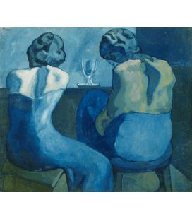Picasso Pablo - Pirenei. Stampa su tela