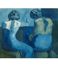 Stampa su tela: Picasso Pablo - Pierreuses