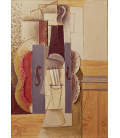 Pablo Picasso - Violin hanging from the wall