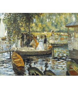 Printing on canvas: Pierre-Auguste Renoir - La Grenouillère