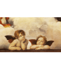 Printing on canvas: Raphael - Cupids Sistine Madonna