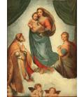 Raphael - The Sistine Madonna. Printing on canvas