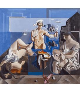 Printing on canvas: Salvador Dali - El Manor