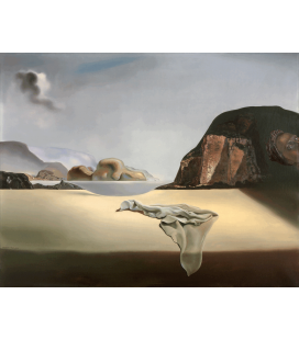 Printing on canvas: Salvador Dalí - The Transparent Simulacrum of the Feigned Image