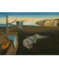Salvador Dalí - La Persistenza della memoria. Stampa su tela