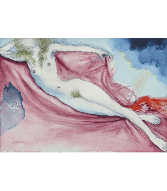 Printing on canvas: Salvador Dalí - Playmate