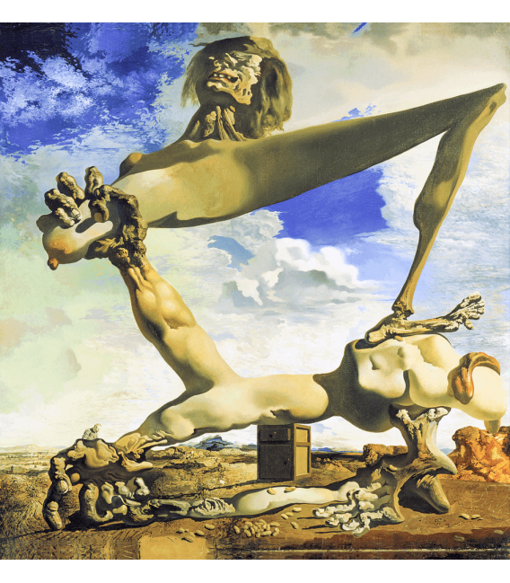 Printing on canvas: Salvador Dalí - Soft Construction with Boiled Beans (Premonition of Civil War)