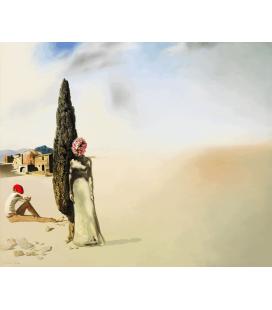 Salvador Dalí - Primavera Necrofila. Stampa su tela