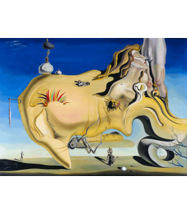 Salvador Dalí - The Great Masturbator. Printing on canvas