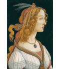 Sandro Botticelli - Idealized Portrait of a Lady (Portrait of Simonetta Vespucci as Nymph). Printing on canvas