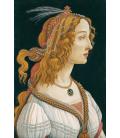 Stampa su tela: Sandro Botticelli - Idealized Portrait of a Lady (Portrait of Simonetta Vespucci as Nymph)