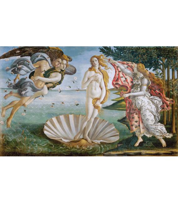 Printing on canvas: Sandro Botticelli - The Birth of Venus