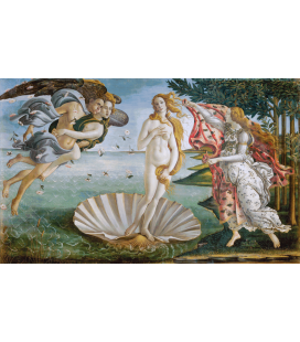 Printing on canvas: Sandro Botticelli - The Birth of Venus